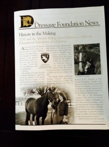 The Dressage Foundation News
